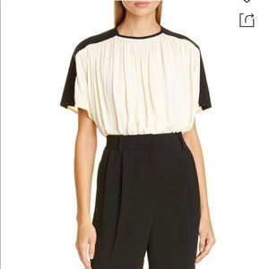 PROENZA SCHOULER Colorblock Gathered Top-NWT-2